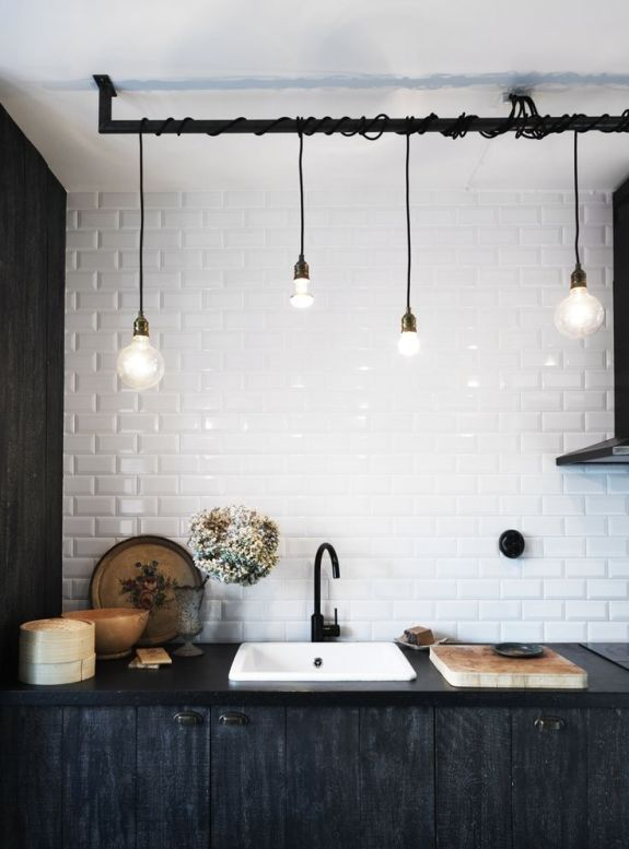 Iluminación en la cocina | na sua lua