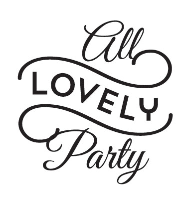 Logo All Lovely Party vía na sua lua