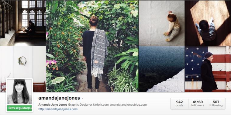 Mis instagramers favoritos: amandajanejones | na sua lua