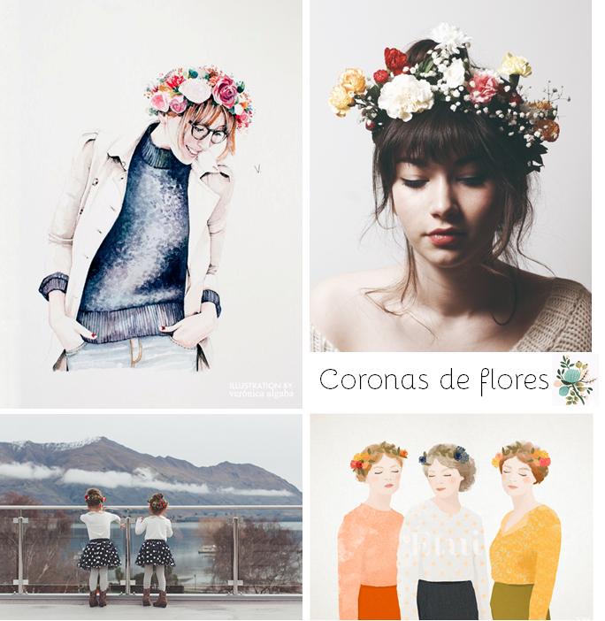 Coronas de flores | na sua lua